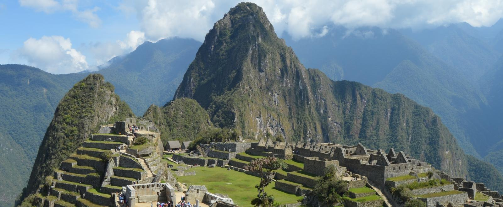 While in Peru, Projects Abroad volunteers love to visit the famous Machu Picchu ruins.